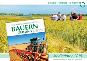 Mediadaten Print und Online für die Bauernzeitung