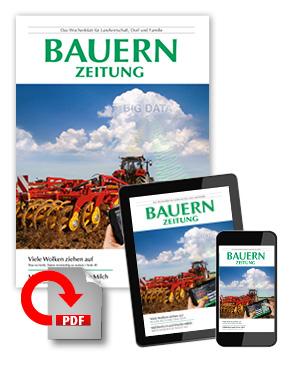 Das Digitalabo der Bauernzeitung: Für Handy und Tablet.