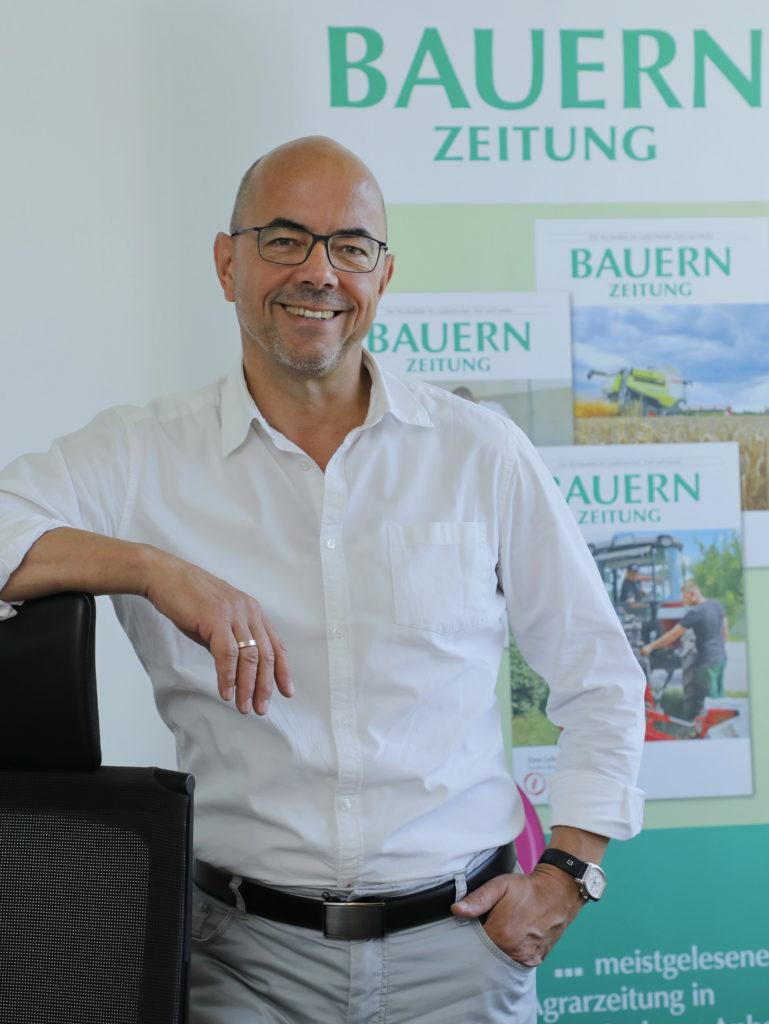 Chefredakteur Ralf Stephan, Bauernzeitung