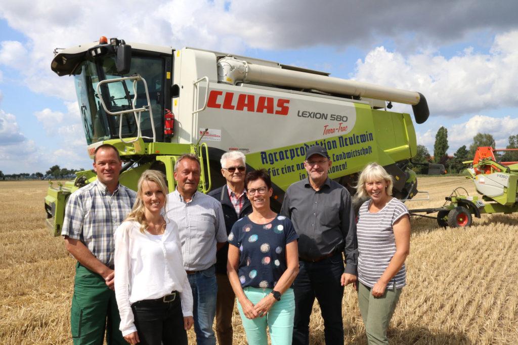 Das Team der Agrarproduktion Oderbruch