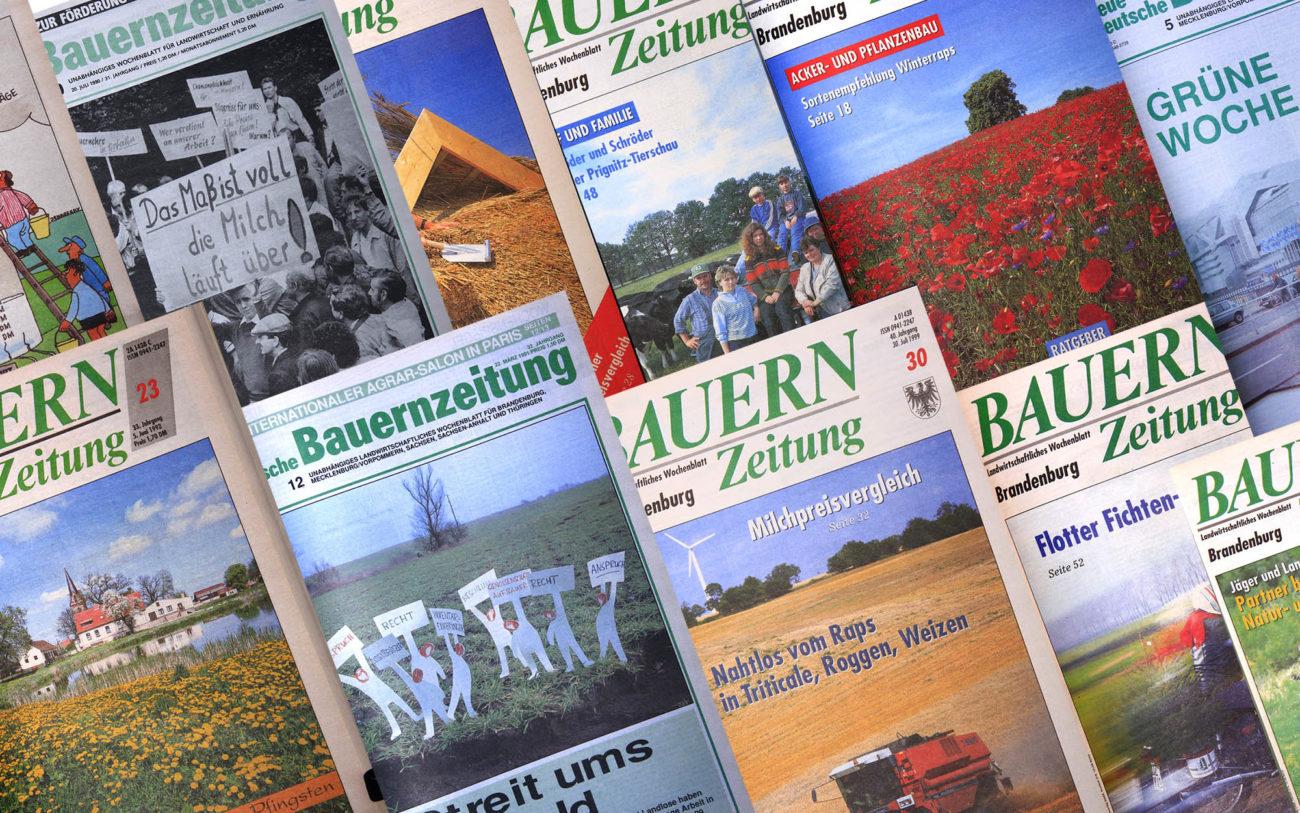 Vergangene Ausgaben der Bauernzeitung