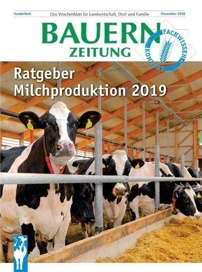 Sonderausgabe Ratgeber Milchproduktion der Bauernzeitung