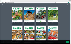 Die bisher erschienen E-Paper der Bauernzeitung in der Volltext-Suche