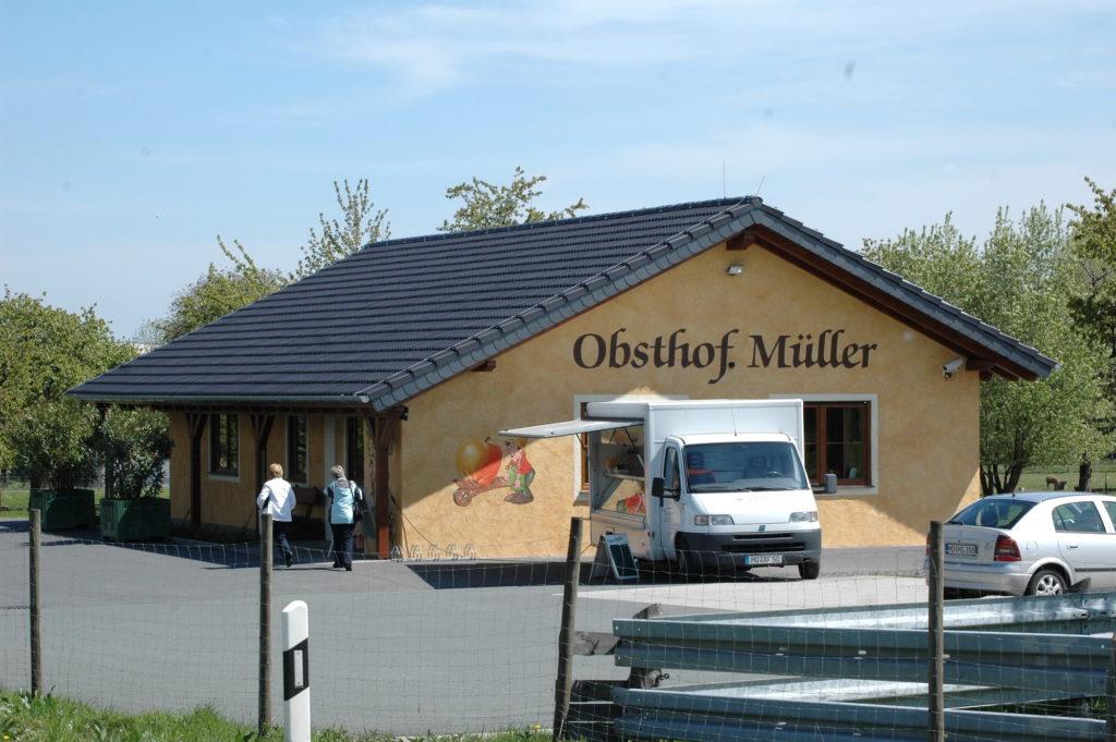 Der Hofladen des Obsthofes Müller