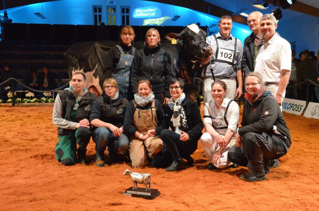 Team Seydaland auf der HolsteinVision