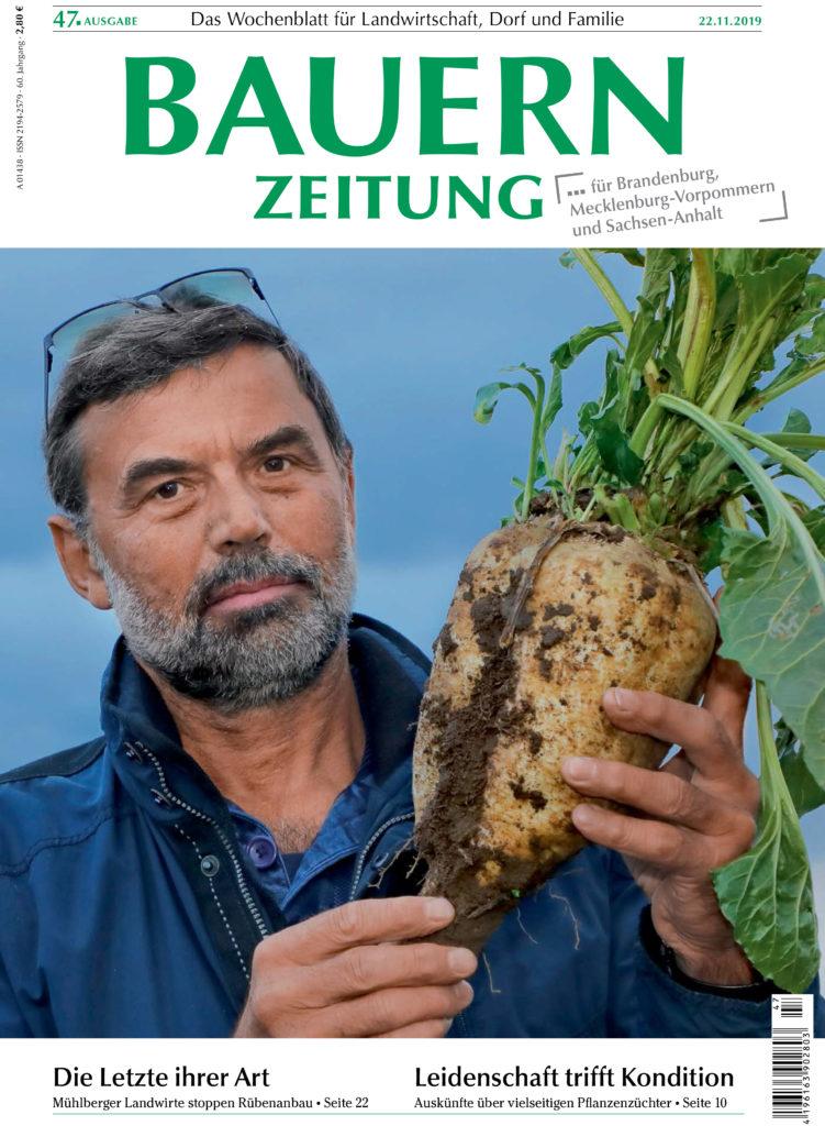 Mühlberg Rübenanbau