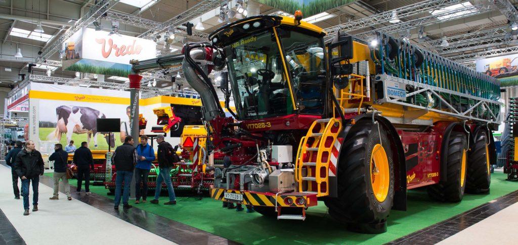 Traktor auf der Agritechnica