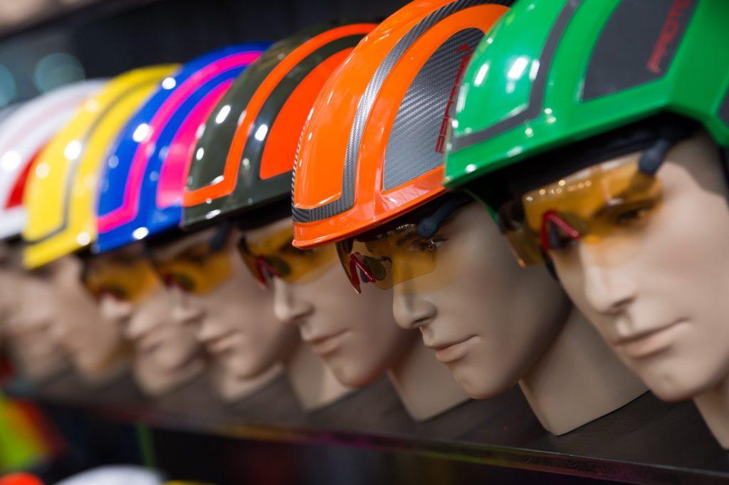 Helme auf der Landtechnikmesse Agritechnica