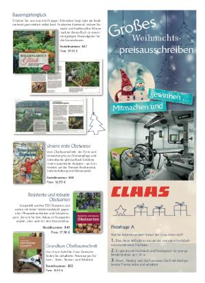 Das Preisausschreiben zu Weihnachten von der Bauernzeitung