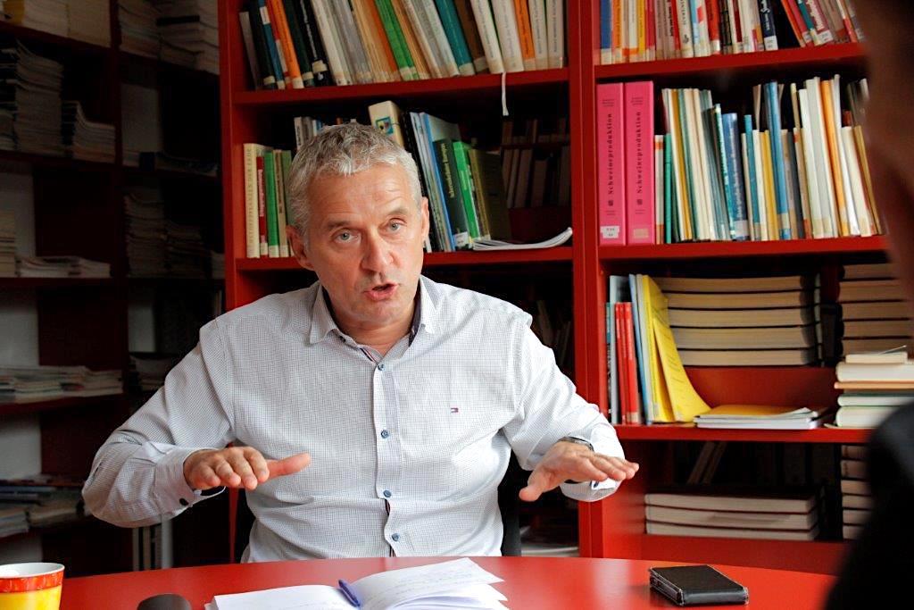Eckard Meyer spricht zum Thema Kupierverzicht