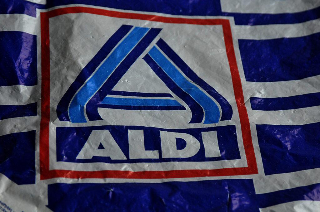 Aldi-Tüte Nahaufnahme