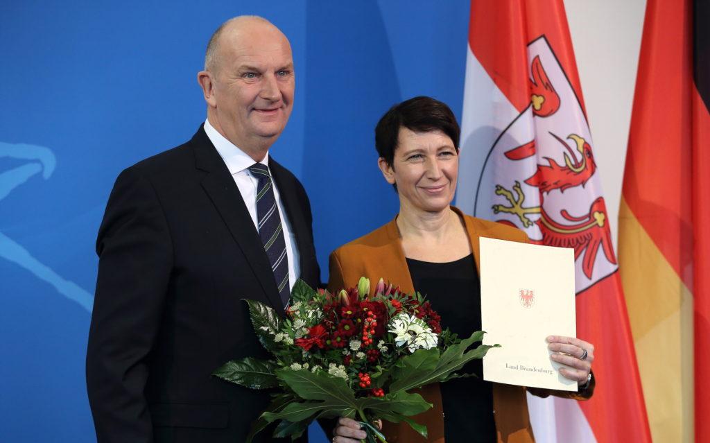 Silvia Bender wird zur Staatssekretärin ernannt