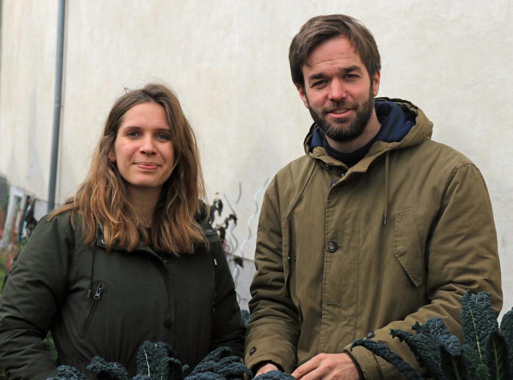 Zwei von vielen bei Ackerdemia: Ariane Maillot und Dr. Christoph Schmitz