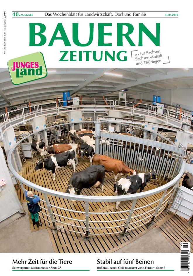 Bauernzeitung Ausgabe 40, Schwerpunkt Melktechnik, Everma