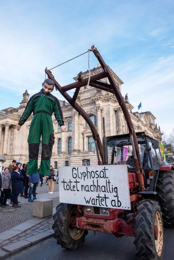 """Demo """"Wir haben es satt!"""" in Berlin"""