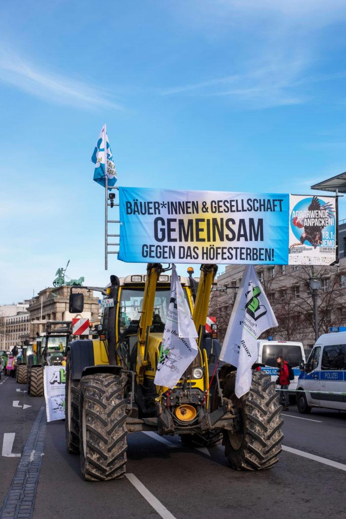 """Großdemo """"Wir haben es satt!"""" in Berlin"""