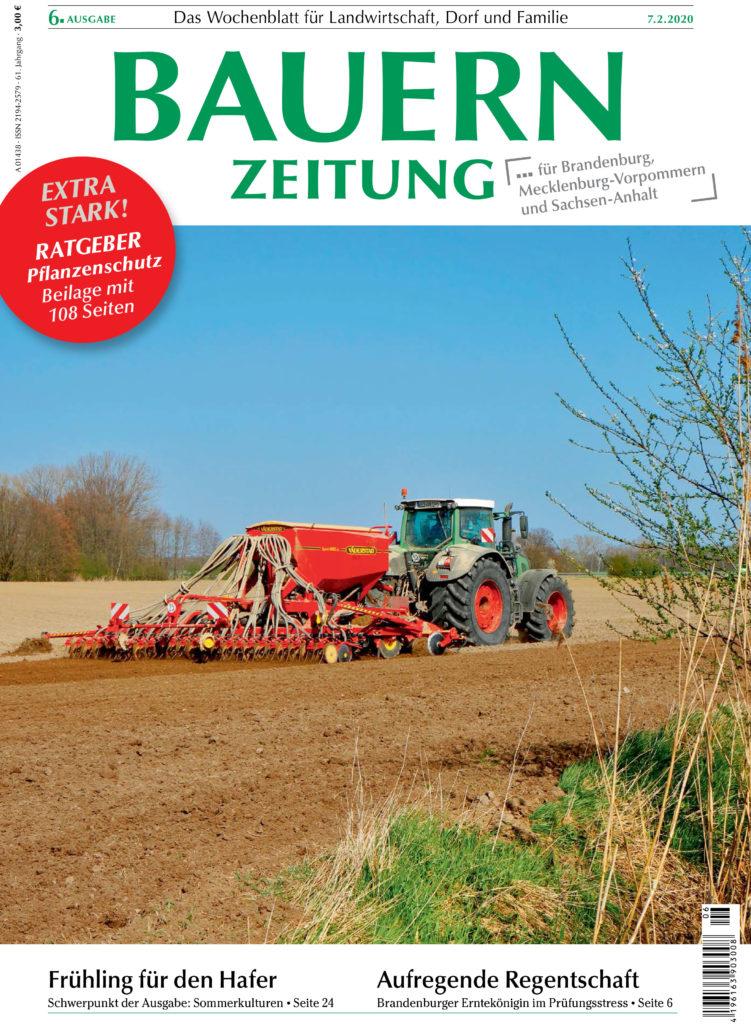 Bauernzeitung Ausgabe 06. Eine Thema: Der IVM Betriebsvergleich