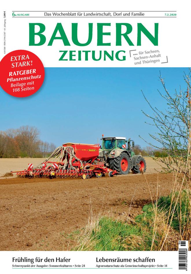 Sommerkulturen-Bauernzeitung