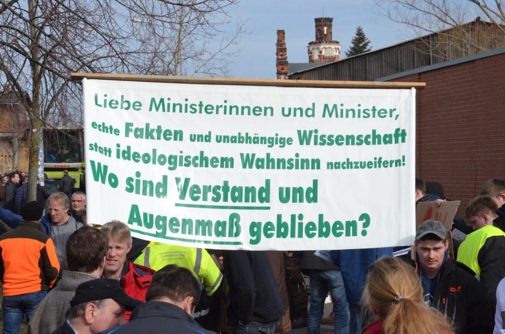 Bauerndemo-Dessau-Plakat