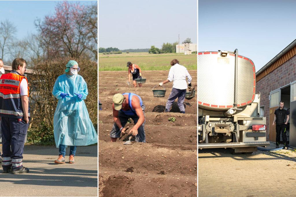 Coronavirus - Was Landwirte jetzt wissen müssen - FAQ