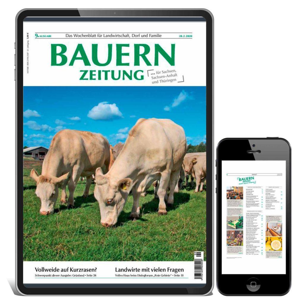 alternatives E-Paper Bauernzeitung