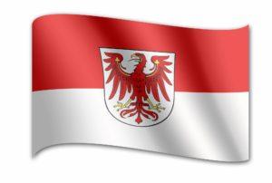 Landesflagge Brandenburg
