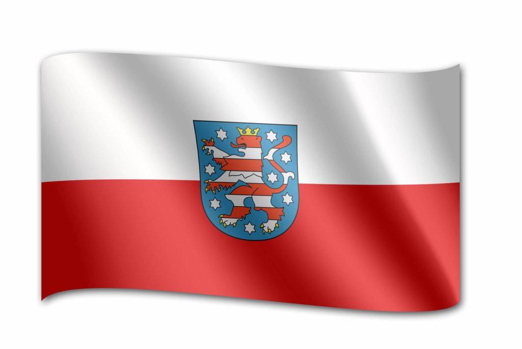 Thüringen Flagge