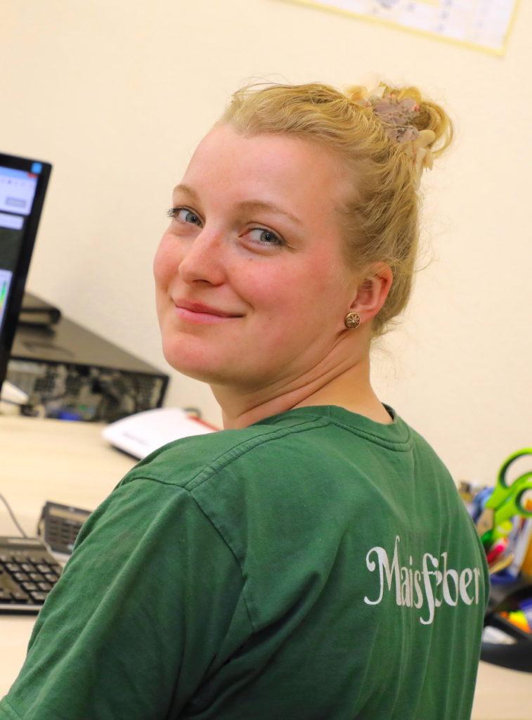 Kerstin Ackermann ist Meisterin im Beruf Fachkraft Agrarservice