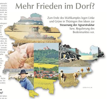 """""""Mehr Frieden mit dem Dorf"""" aus Bauernzeitung 43/2019 Süd, S. 10"""