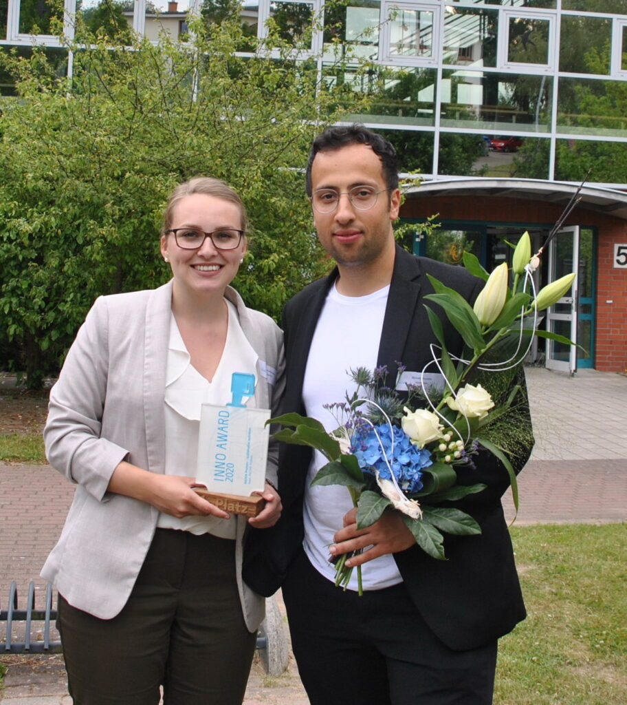 Gewinner-Raijana-Schiemann-und-Ahmed-Hussein-vom-Start-up-INOVA-Protein