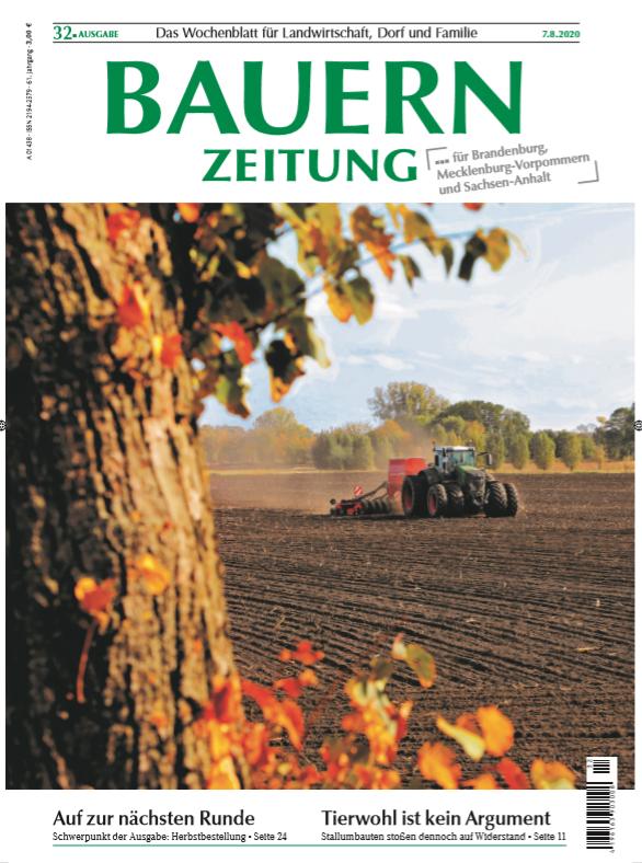 Ausgabe 32 der Bauernzeitung.
