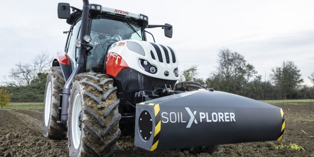 Berührungsloser Bodensensor zur autonomen Messung der Leitfähigkeit