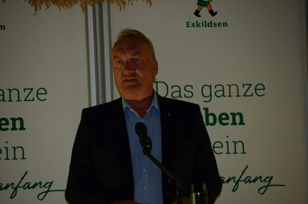 Geschäftsführer Lorenz Eskildsen