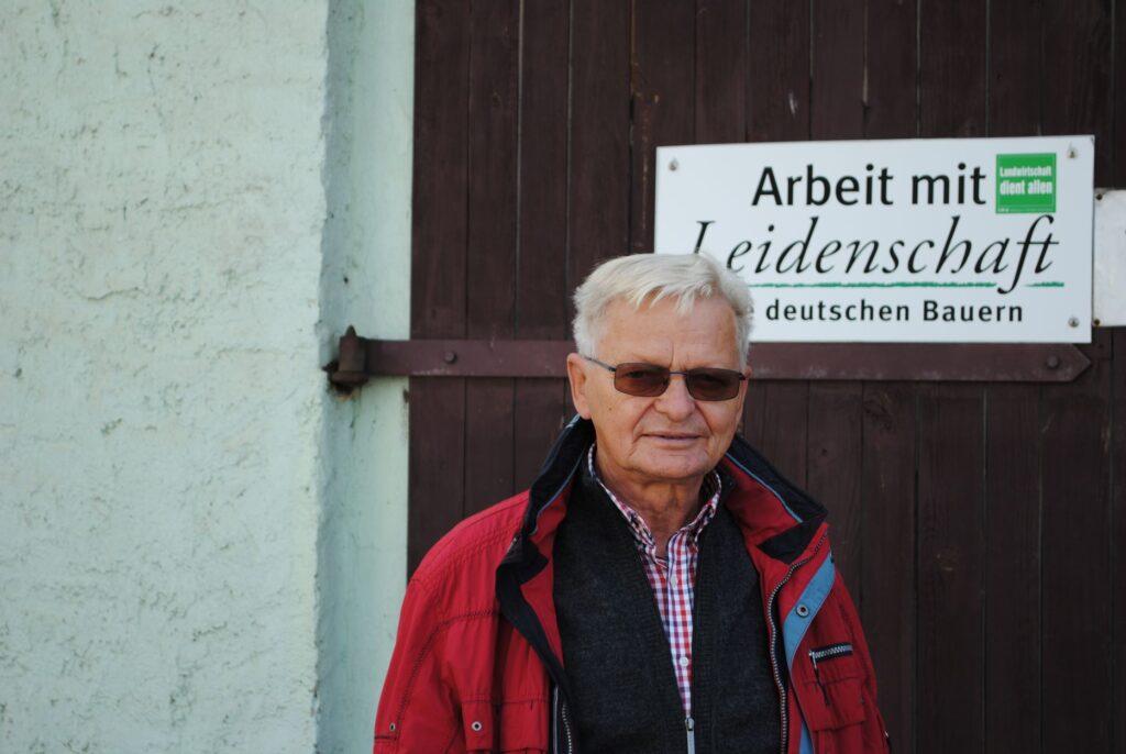 Reinhard Mich baut hauptsächlich Gurken, Kartoffeln und Meerettich an. Zusammen mit Sohn Marcel betreibt er den Gemüsebaubetrieb Spreewald.