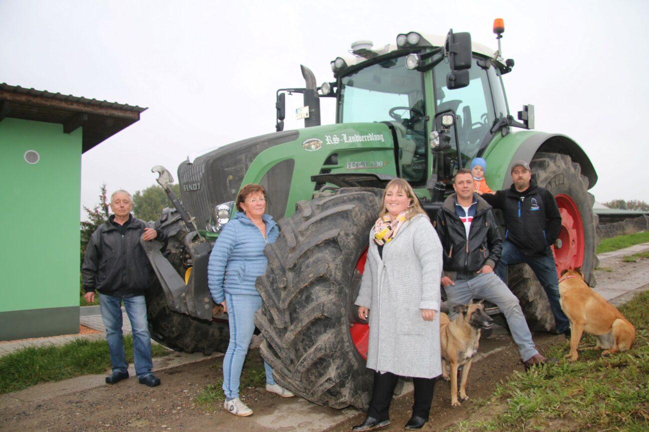 Gruppenfoto der Famile Stoltenfeld.